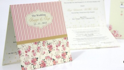 Wedding Card Vintage