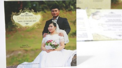 Wedding Invitation Simpel Plus Foto