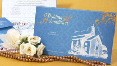 Wedding Card Simple Dengan Kartun Our History