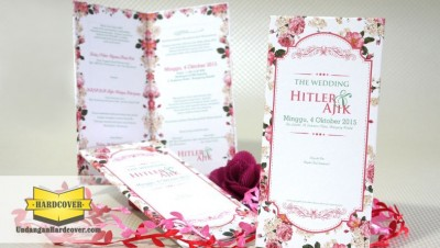 Wedding Invitation Tema Bunga