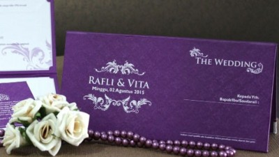 Wedding Invitation Simple Murah